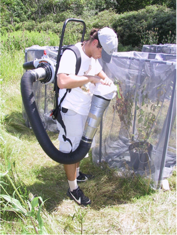 OBLR insect vacuum