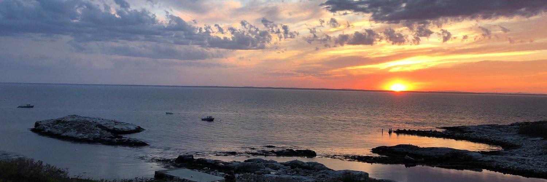 shoals sunset